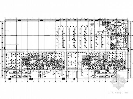 [郑州]制药车间净化空调系统全套施工图(冷冻工程)