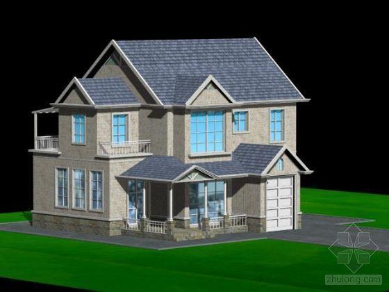 某别墅模型