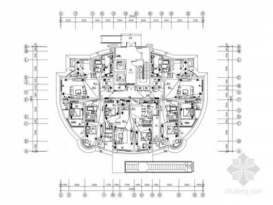 [天津]知名设计院住宅小区全套电气施工图纸