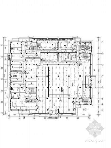 十一层大型办公楼全套电气施工图纸(含办公、餐厅宿舍及车库)
