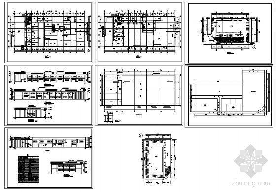 某二层本田销售店建筑施工图-4
