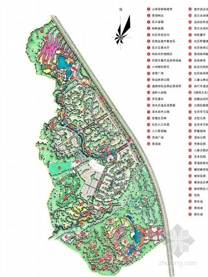 [成都]生态公园式小区景观规划设计方案