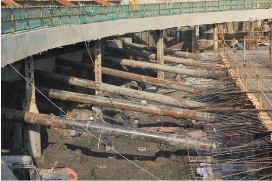 [QC成果]提高深基坑钢管斜支撑施工质量(附图)