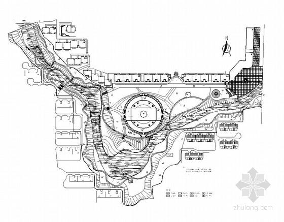 [河南]滨水公园园林景观工程施工图