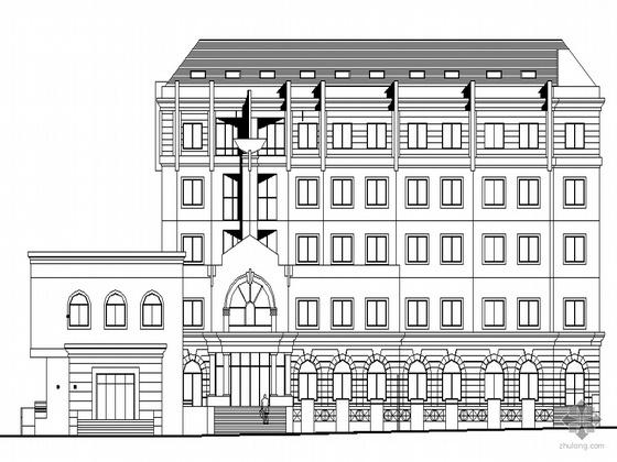 [北京市]某信访办扩建工程建筑施工图设计套图(含无障碍设计详图)