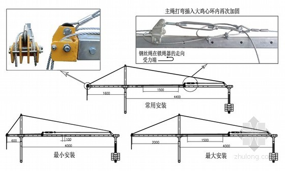 [江苏]高层商业楼装修用电动吊篮架设方案(ZLP630型)