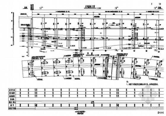 互通主线高架桥桥型布置节点详图设计