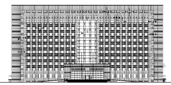 辽宁省武警总队办公楼外装饰工程施工图