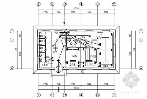 某污水处理厂厂区电气设计图纸