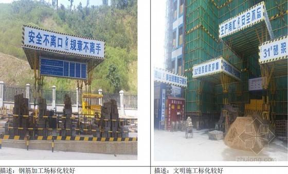 建筑集团区域公司10月份工程监控管理月报(50余页 附图较多)