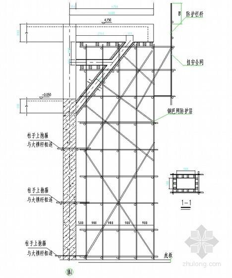 高大模板支撐體系施工方案(12.1m)