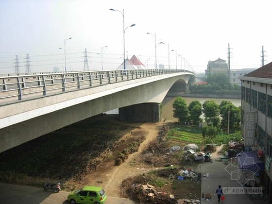 3x16m钢筋混凝土现浇T梁桥施工图设计(49张 三柱式桥墩)