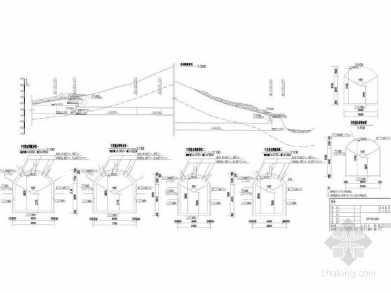[四川]防洪隧洞综合治理设计图