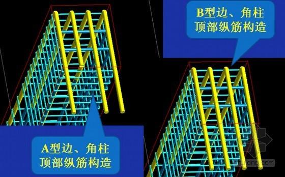建筑工程平法三维钢筋节点构造详图培训讲义讲稿(附有大量构造图)