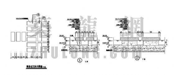 青条石汀步大样图-4