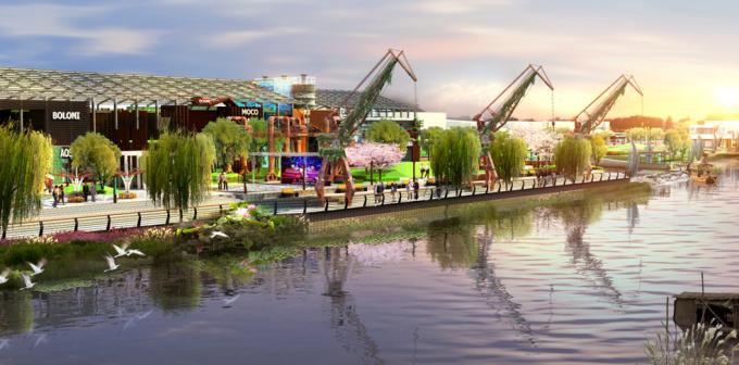 [江苏]滨水工业码头生态大运河公园景观改造设计方案(2017最新)