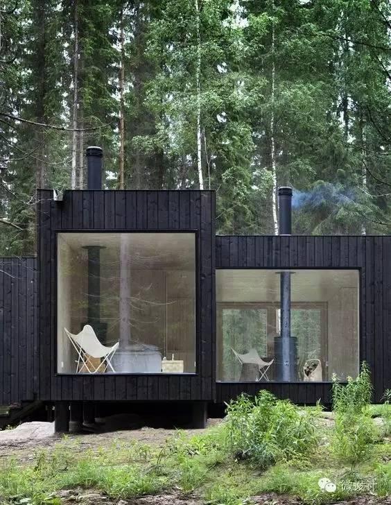 回到乡村,盖一栋森林中的房子_22