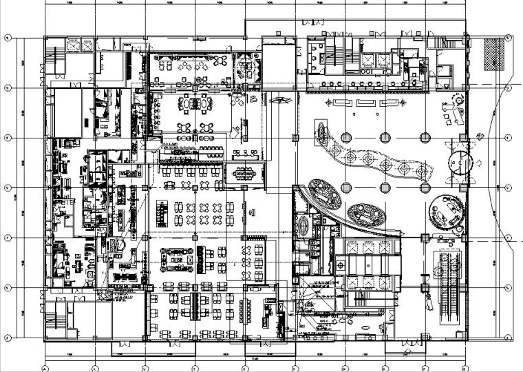 CCD青岛艾美酒店CAD施工图+效果图+物料表