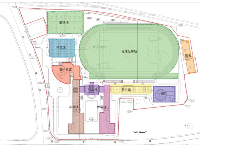 [上海]高层欧式风格中学改扩建投标方案_5