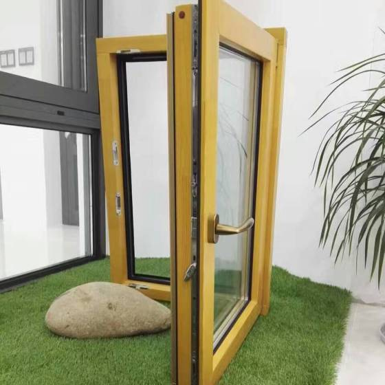 贝科利尔80按建筑设计铝包木门窗隔音门窗