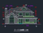 100套别墅施工图(含建筑、结构、施工)
