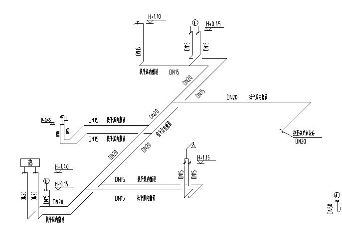 某小区七单元给排水施工图