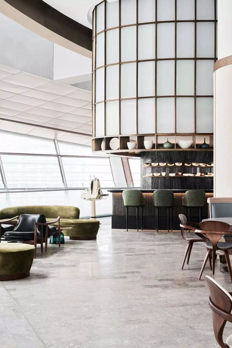 迪拜地标旁的2000平米超大餐厅,精致细节成就奢华设计_10