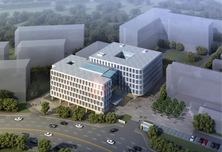 中国医学科学院皮肤病医院门诊综合楼建筑方案文本+CAD