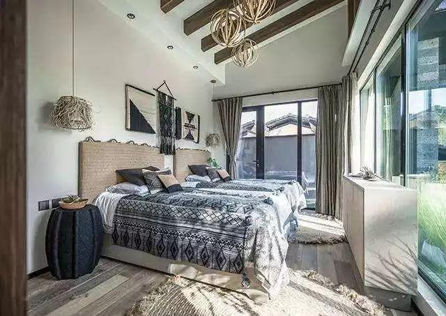 卧室背景墙别放空,这样设计美极了!_13