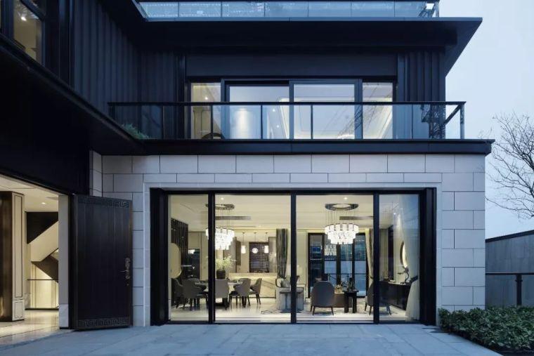 质朴材质也能构建空间气质,顶级别墅样板间设计_2