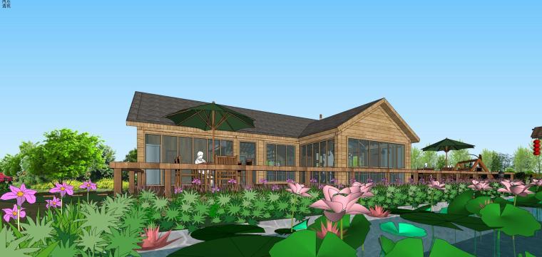 城市生态农业园民宿景观设计 11