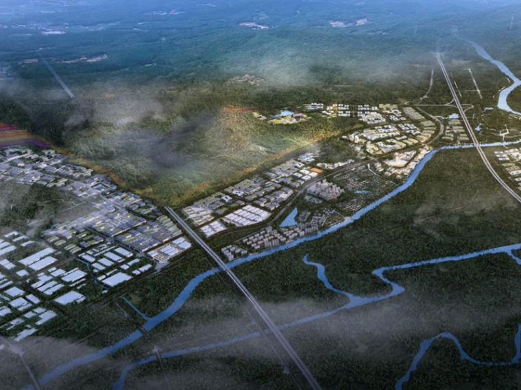 [浙江]湖州美妆旅游小镇规划设计