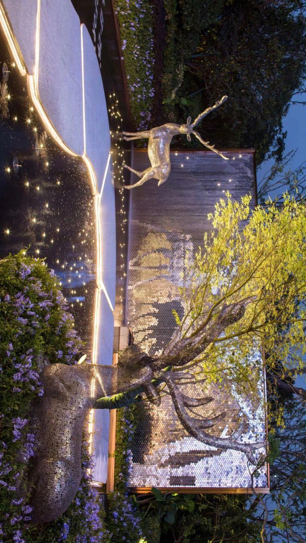 摹绘四季,鎏光鹿影|合肥龙湖春江郦城体验区_1