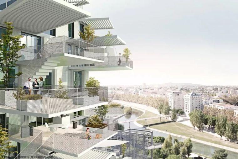 """藤本壮介设计的像树一样的公寓楼建成了,每户都有""""空中花园""""_31"""