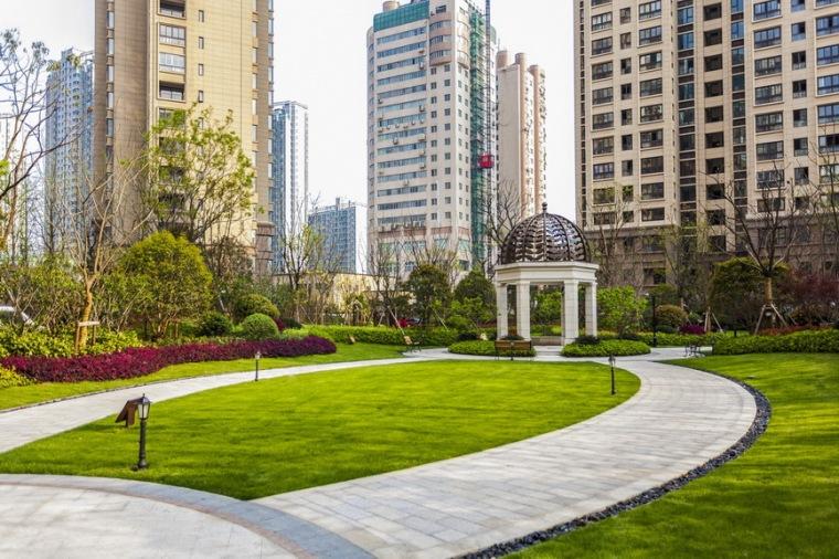 上海中海万锦城三期ArtDeco风格居住区景观设计_7