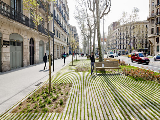 PasseigdeStJoan大道改建-Passeig de St Joan大道改建 -Passeig de St Joan大道改建第1张图片