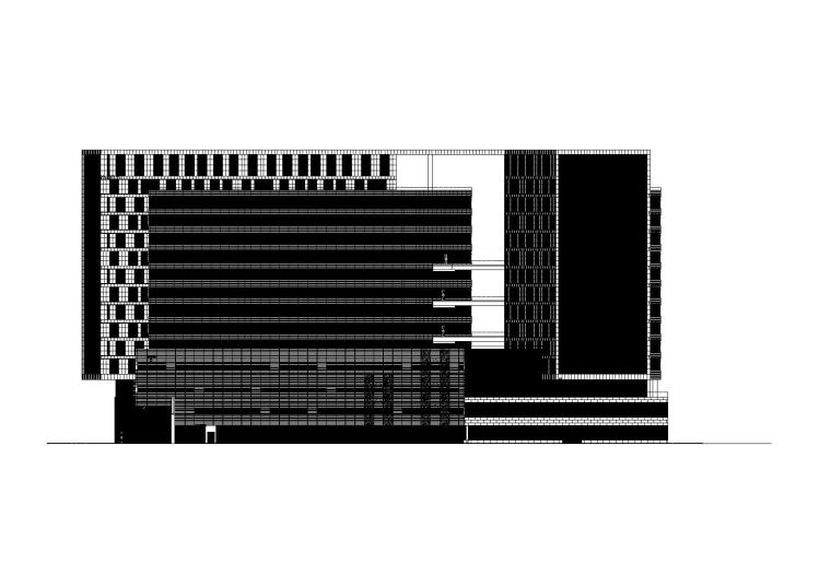 [上海]金融企业办公大楼建筑施工图(100+张CAD)