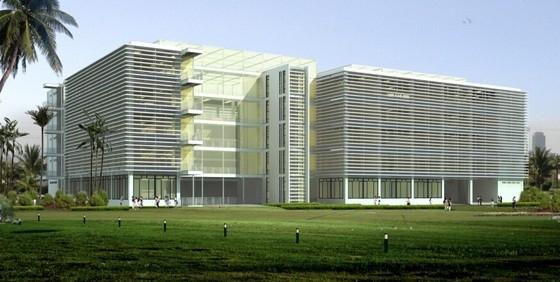[三亚]现代风格旅游大学实训楼建筑设计方案文本(含CAD 国外事务所)