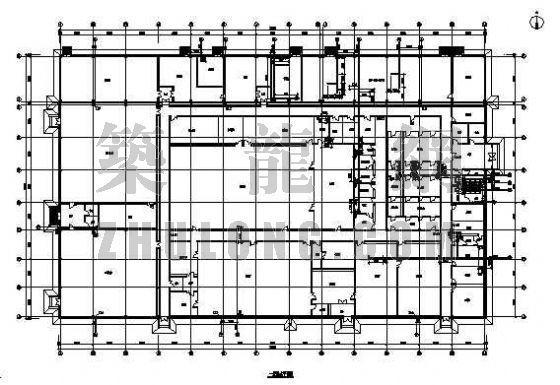 某医药工业厂房给排水设计图