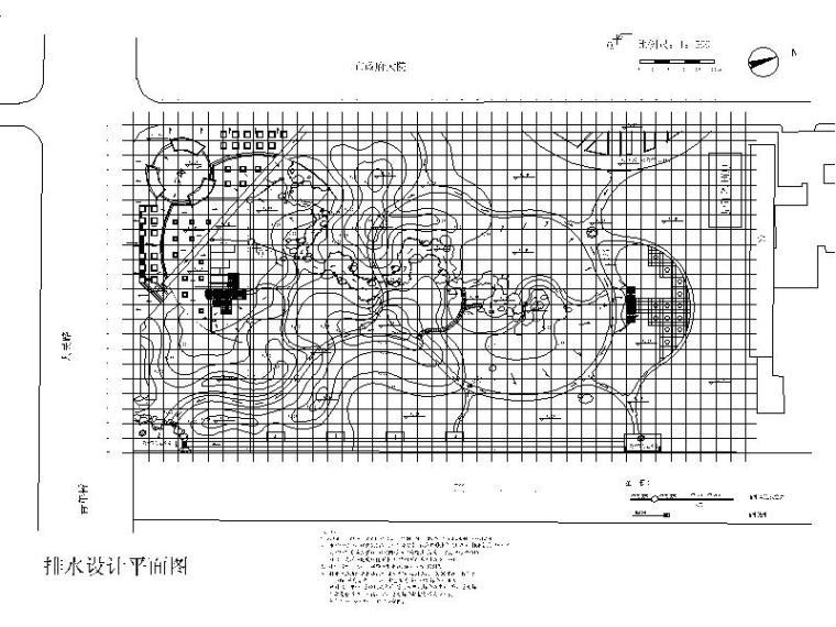 排水设计平面图
