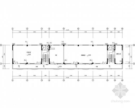[湖南]小学扩建工程给排水施工图(系统图详细)