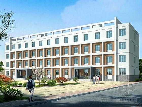 [安徽]宿舍楼建筑安装工程量清单招标控制价及招标文件(附CAD图)