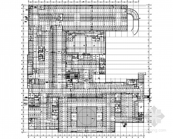 [上海]某商务中心给排水消防设计图纸(6栋楼、地下室)