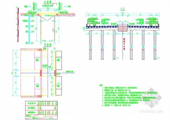 1-13m预应力混凝土后张法简支T梁设计套图(34张)