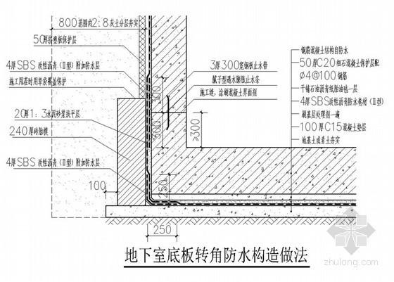 [天津]高层住宅小区工程防渗漏专项施工方案