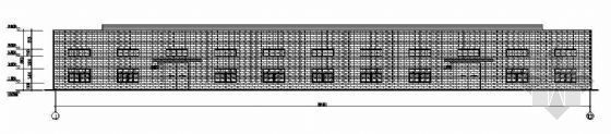某单层全钢结构带吊车厂房建筑结构图纸