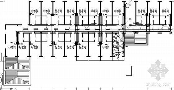 某公寓电气设计方案图