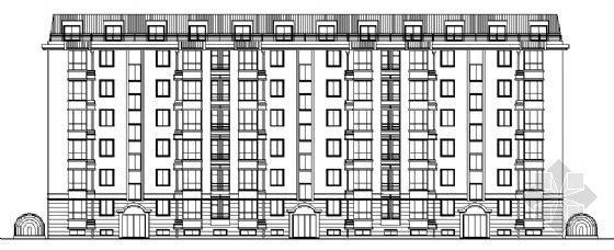 某多层住宅楼(半地下车库)建施图