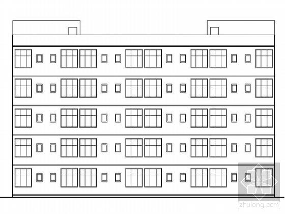 [重庆]某中学五层学生宿舍建筑施工图