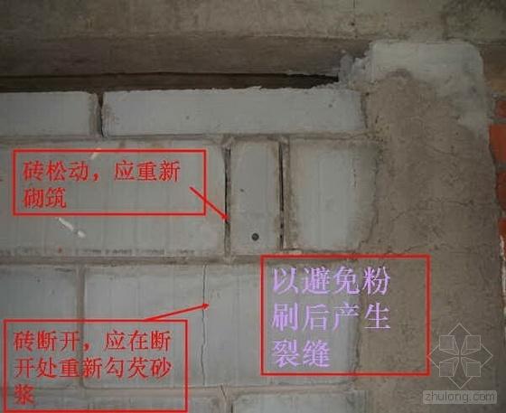 常州某地产公司墙体砌筑工程作业指导书